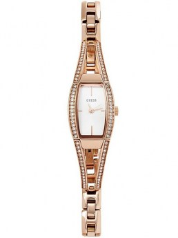 Часы GUESS HOURGLASS ROSE GOLD-TONE WATCH