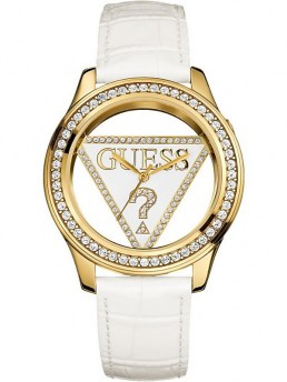 Часы GUESS WOMEN'S CLEARLY WHITE STRAP WATCH