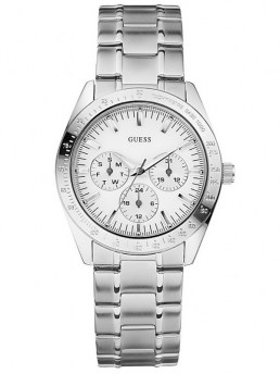 Часы GUESS CHASE SILVER-TONE WATCH