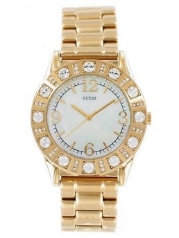 Часы GUESS SPARKLE GOLD-TONE WATCH