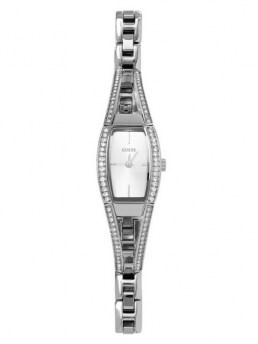 Часы GUESS HOURGLASS SILVER-TONE