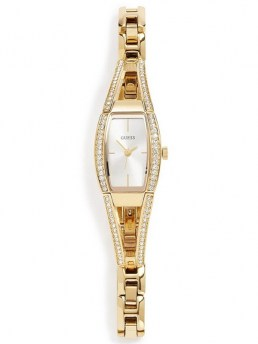 Часы GUESS HOURGLASS GOLD-TONE